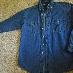 Arizona Jeans long sleeve jean shirt
